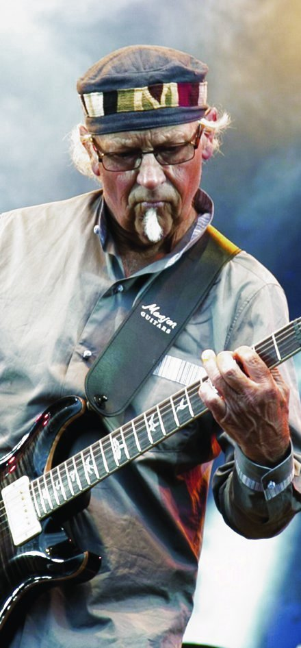 JETHRO TULL'S MARTIN BARRE + kevin davy white